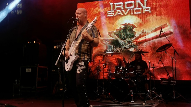 Iron Savior Hall of the Heroes Live @ Moscow 2020 4K