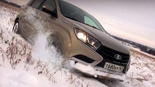 Lada Vesta, Lada XRAY и Datsun miDO: зимний тест