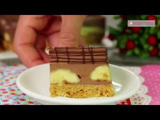 Шоколадное безумство и банановая эйфория! Шоколадно-банановый торт всего за 15 минут!