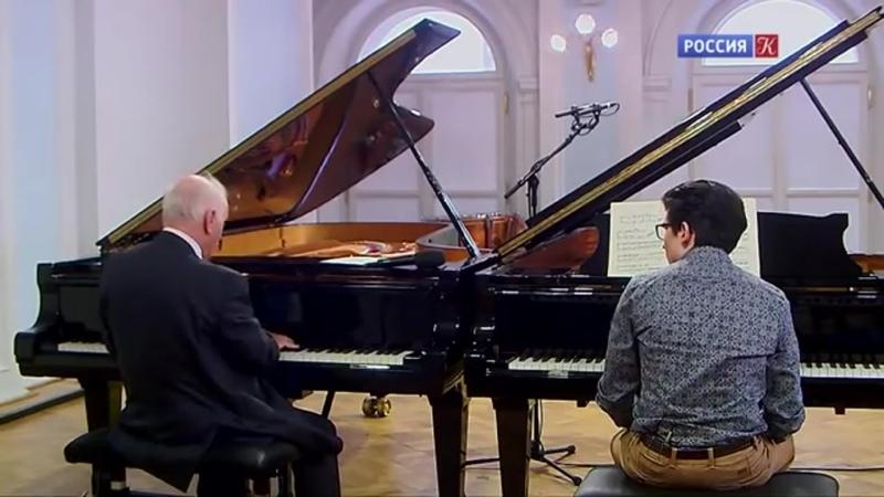 Даниэль Баренбойм Мастер класс в Московской консерватории Концерт