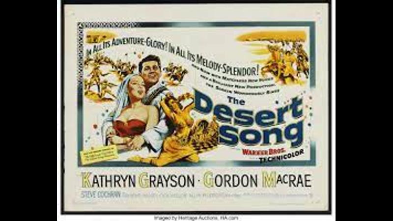 The Desert Song 1953 Kathryn Grayson Gordon MacRae Steve Cochran