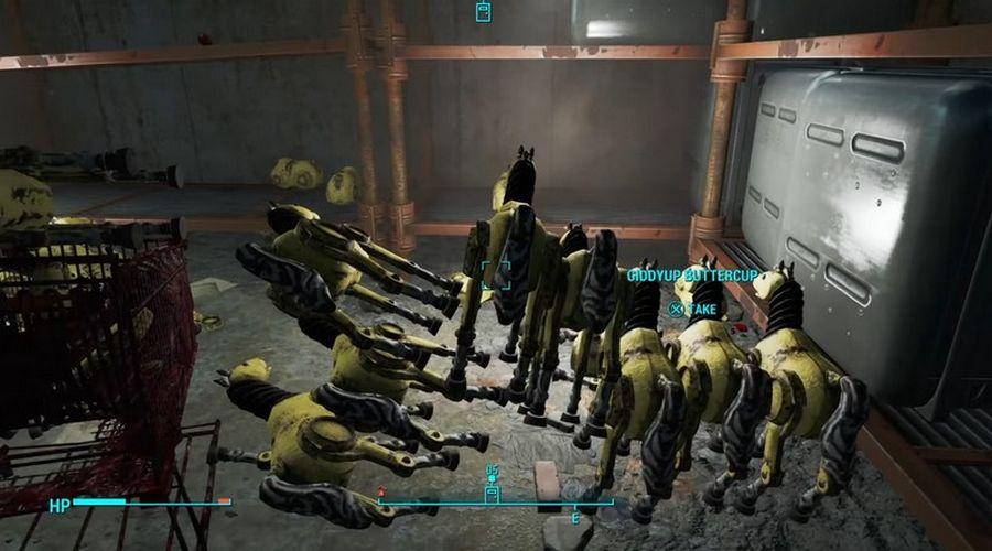 fallout 4 как получить шестеренки
