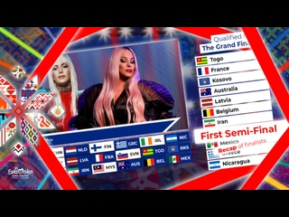 Vk Eurovision 2024 - First Semi-Final - Recap of finalists