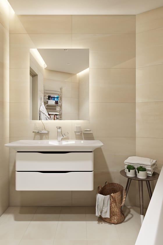 Дизайн-проект квартиры-студии 38 кв.