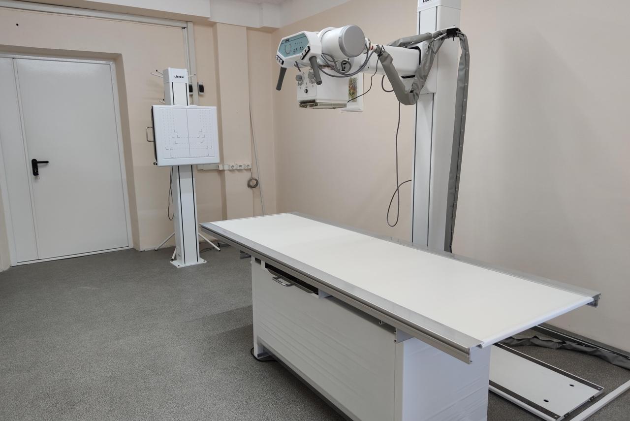 Медсанчасть «Котельщика» открыла новый рентгенодиагностический кабинет