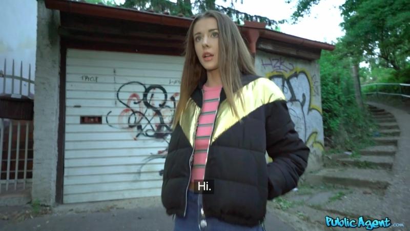 PublicAgent - Sybil Kailena - Sexy Student and the SEXperiment [Брюнетка,Украинка,Сzech,Секс за деньги,Порно,На камеру,2020]