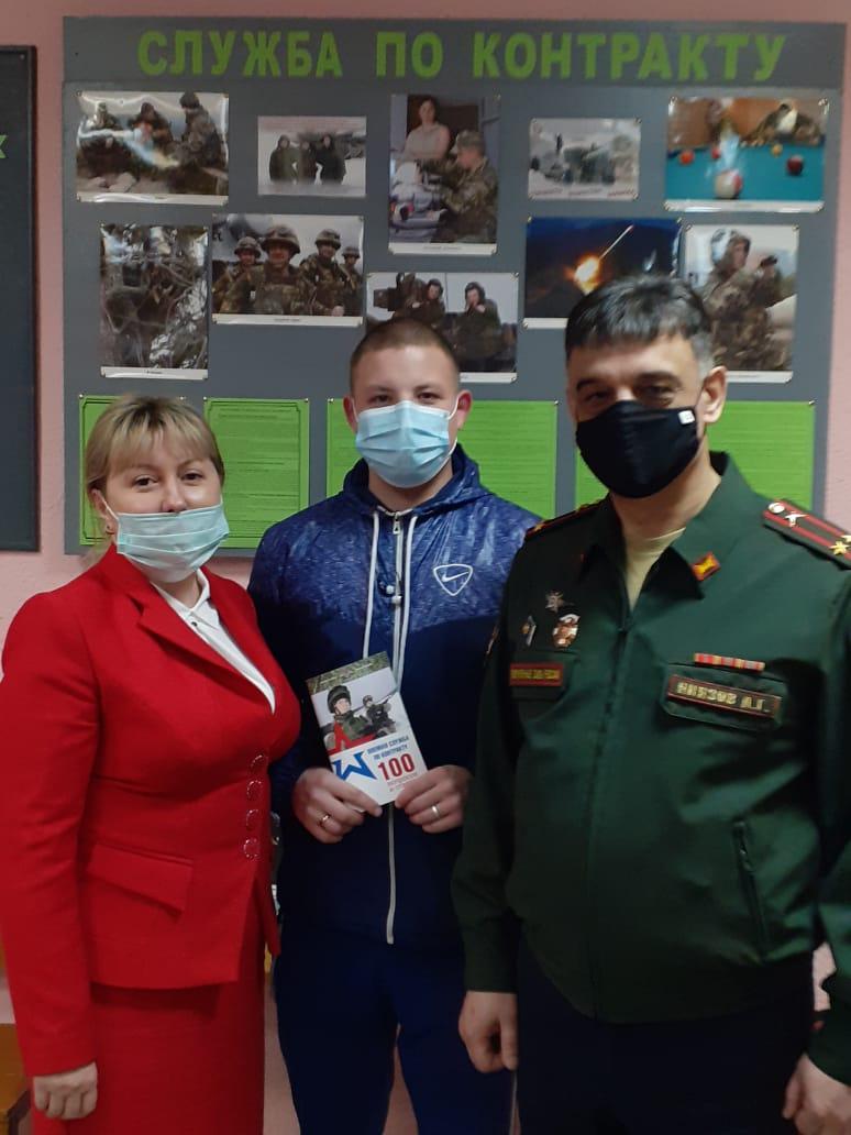 Надежда Цветкова провела рабочую встречу с военным комиссаром Удорского района Абдусатором Ниязовым