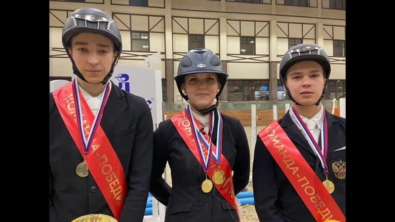 Команда ХМАО ЮГРА победитель Кубка России по группе А