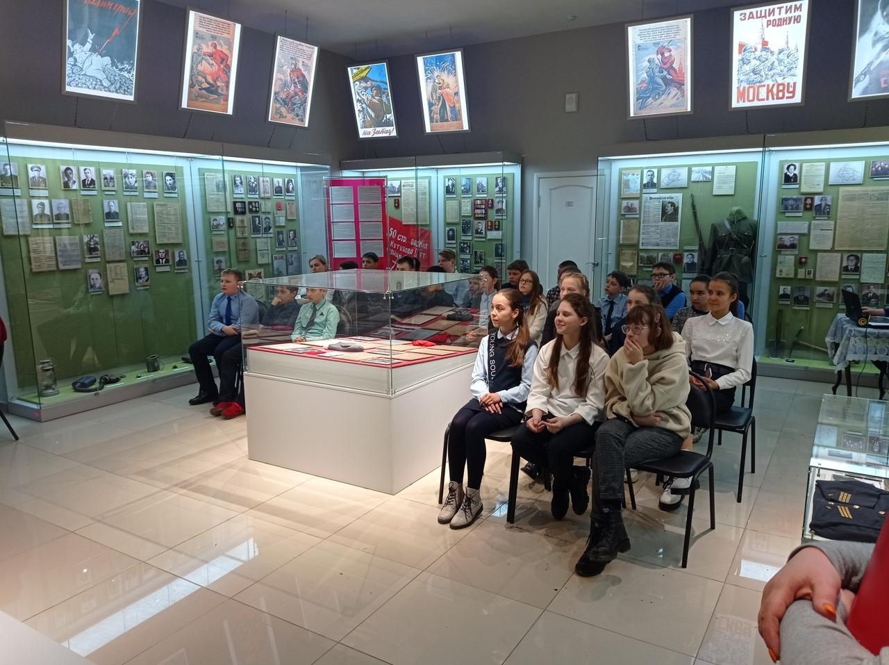 Петровским школьникам рассказали о Ледовом побоище