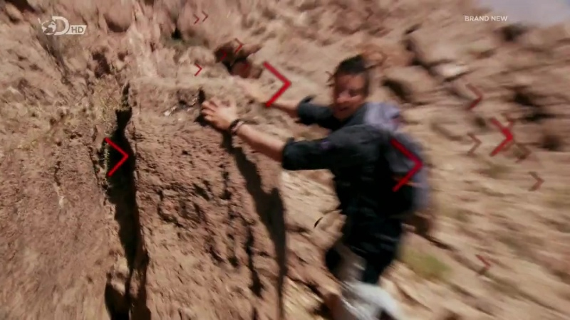 Беар Гриллс По Стопам Выживших HD 720p Escape From Hell 1x04 Каньон