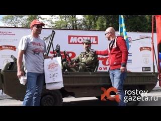 Автомобиль-амфибию для ВДВ и диверсантов в Ростове приняли за грузовик