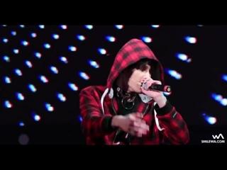 [fancam] 161223 NCT 127 - Mad City (Taeyong Focus) @ 2016 Sinchon X'mas Festival