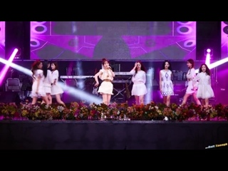 170826 Lovelyz -  Now, We @ Chupungryeong Festival
