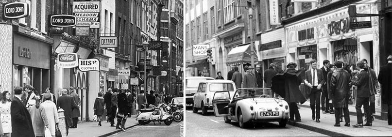 Лондон, Кэрнэби-стрит, 60-е