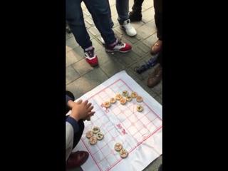 Решение задач по сянци (китайские шахматы) на деньги.