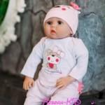 Кукла Реборн КИД девочка Ксюша, рост 55 см.