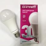Лампа светодиодная 30W  Е27  4000К