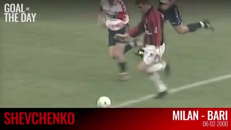 Андрій Шевченко забив один з найкрасивіших голів у своїй легендарній кар'єрі