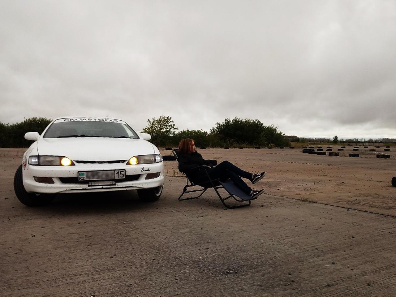 Сергеева Елена и Toyota Curren 4ws