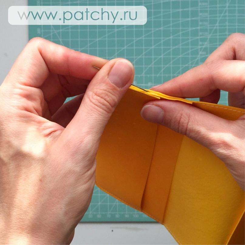 Мастер-класс «Обложка для паспорта», изображение №22