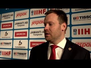 ЧМ U18. Финал. Швеция - Россия. Комментарии после матча