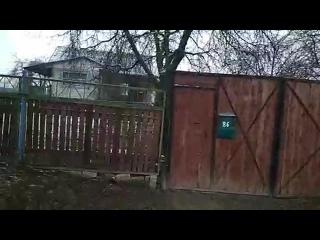 Дом, где были жестоко убиты пенсионер и его дочь