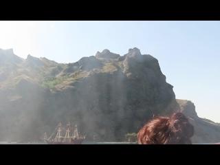 Морская прогулка, Карадагский заповедник, пгт.Коктебель, Крым. Видео- 4 июля 2020 г.