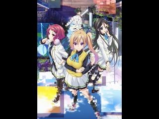 1-12 Серия + ОВА Призрачный мир мириады цветов \ Musaigen no Phantom World (AniDUB)