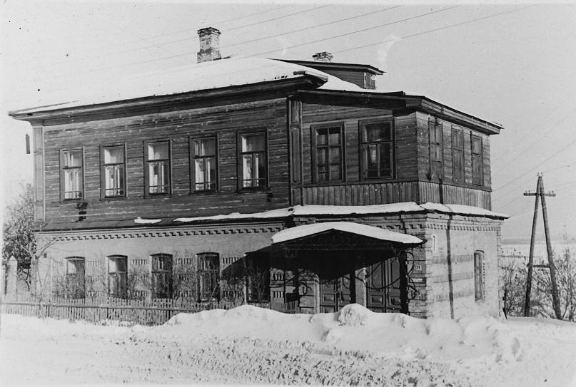 Дом Гвоздевой. 1967 г. Фото: А. Г. Тинский.