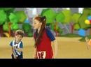 Жила-была Царевна - Зарядка с Царевной- Детская площадка - развивающие мультики - теремок песенки.mp4