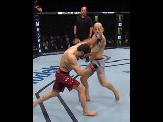 Глухие нокауты наших бойцов в UFC