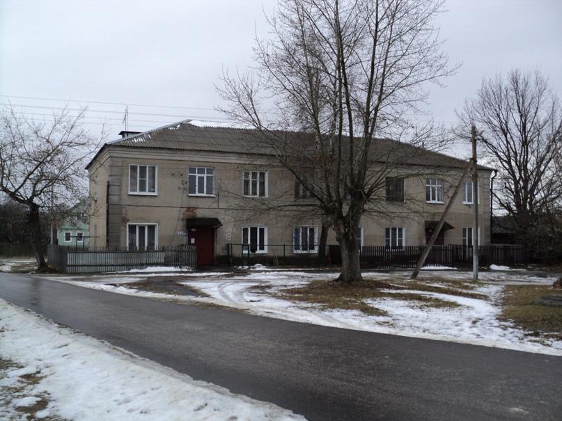 Типовая советская жилая архитектура 50-х годов в Белоомуте., изображение №21