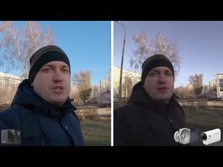 [Alex Fish I Рыбалка и Путешествия] GoPro 8 Black vs Sony HDR-AS300. Честный и подробный тест экшн-камер днем и ночью.