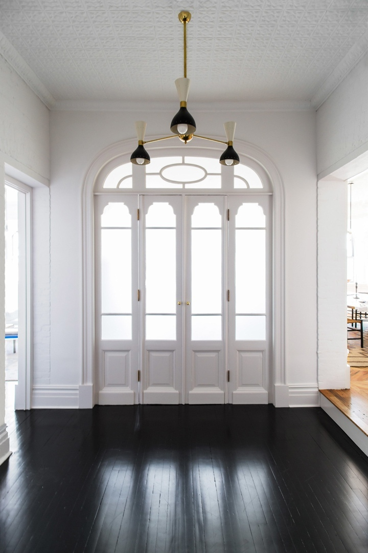 Interior design couple turn historic Williamsburg schoolhouse into light-filled home