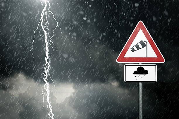 Погода штормовое предупреждение