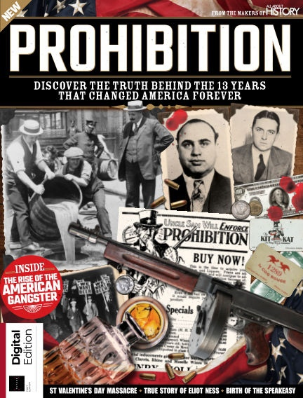 All About History Book of the Prohibition - 3rd Edition  2021