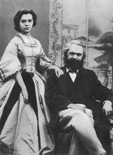 Карл и Дженни Маркс