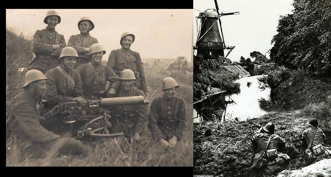 Голландцы на войне