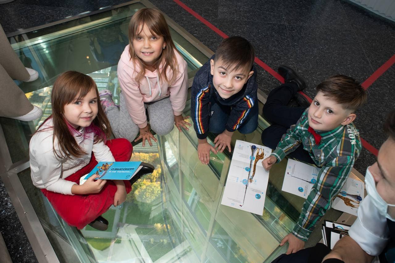 Маленькие ученые на большой башне