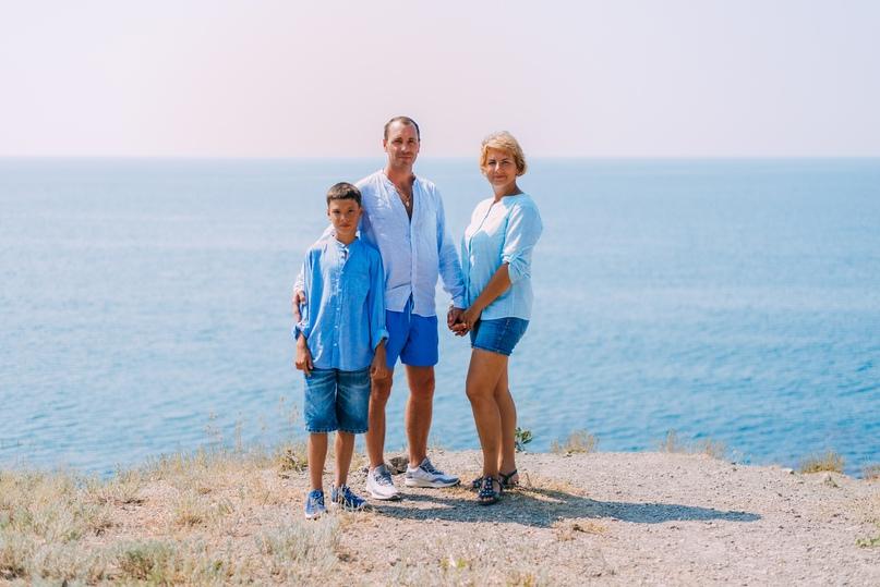 Семейная фотосессия в Орджоникидзе - Фотограф MaryVish.ru
