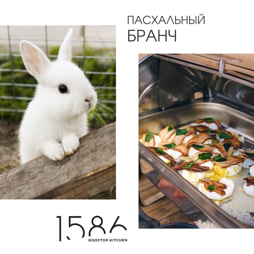 2 мая | Сытный, вкусный и яркий Пасхальный бранч в Ресторане 15/86. Теплая семей...