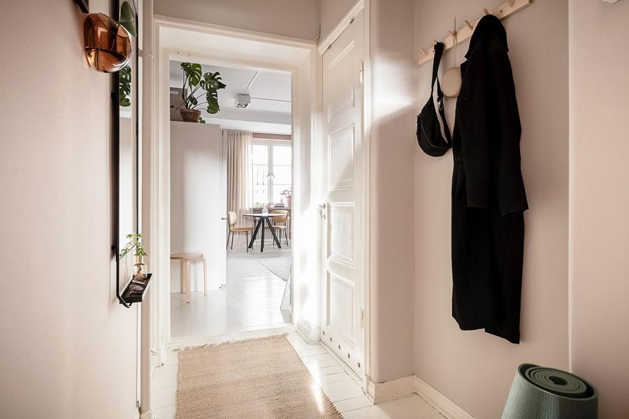 Маленькая шведская квартира-студия 23 кв.