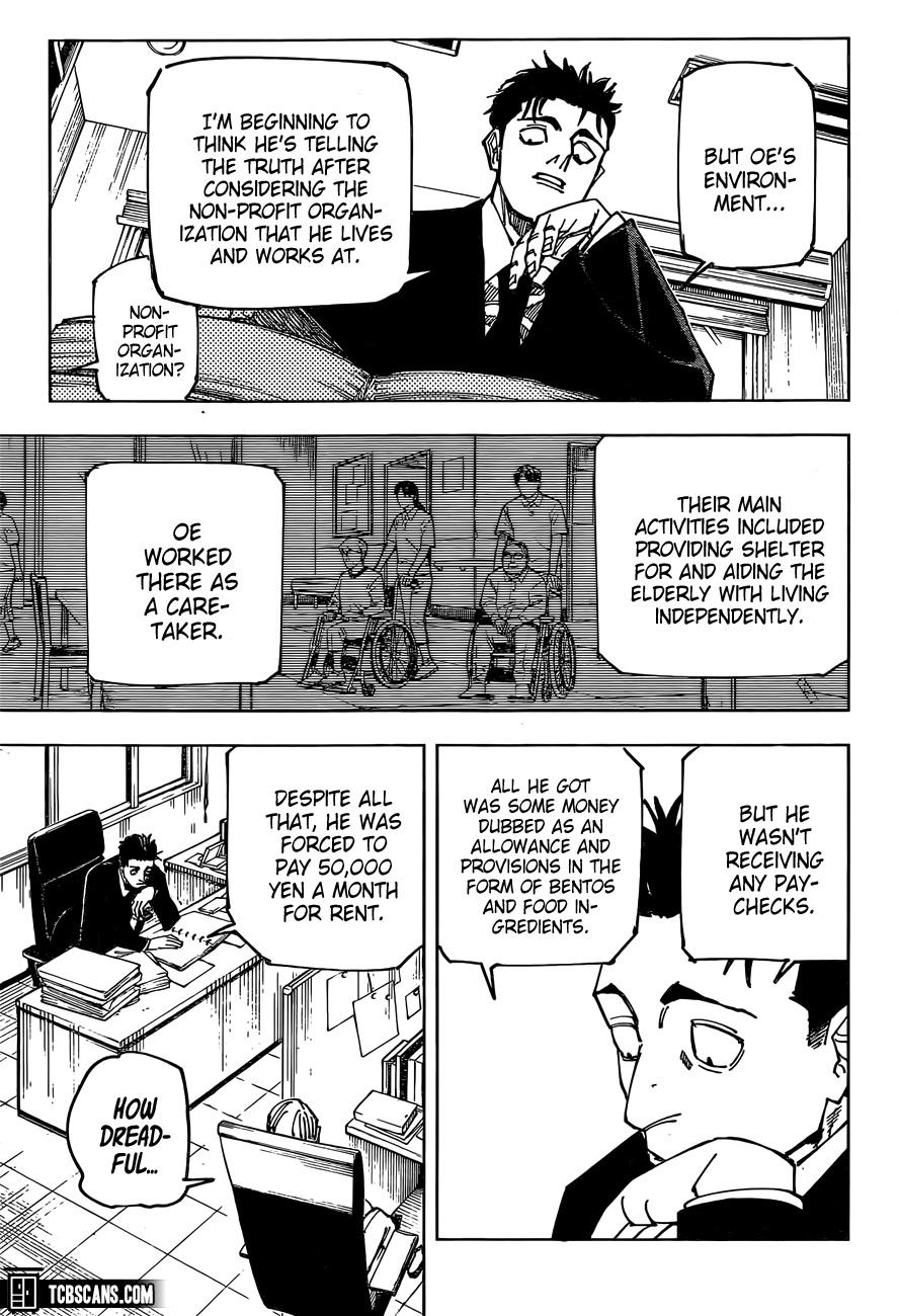 Jujutsu Kaisen Chapter 159, image №5