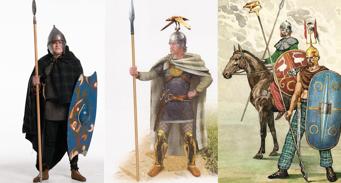 Воины кельтов