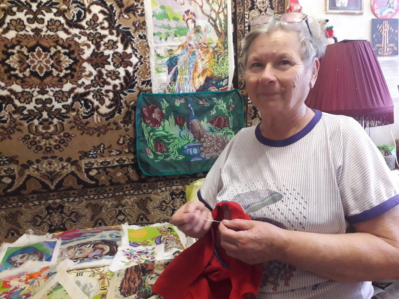 Петровчанка Нина Гавриловна ЕЖОВА участвует в проекте #АктивноеДолголетие64