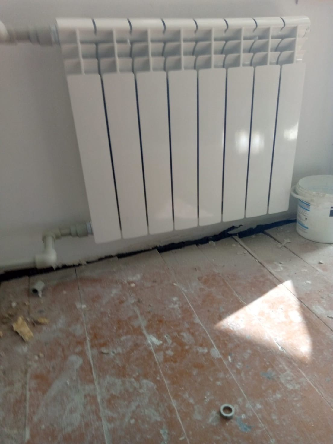 Смена радиатора Московская 101 кв.219