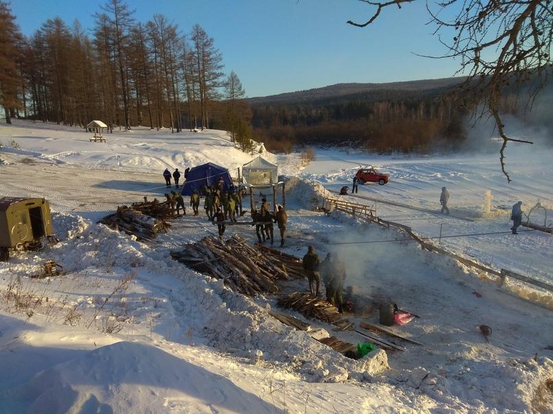 Помощь в подготовке полевого лагеря для проведения Крещенского купания, изображение №4