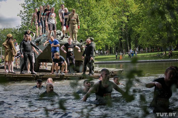 «Забег отважных» пройдет 8 мая в парке Победы