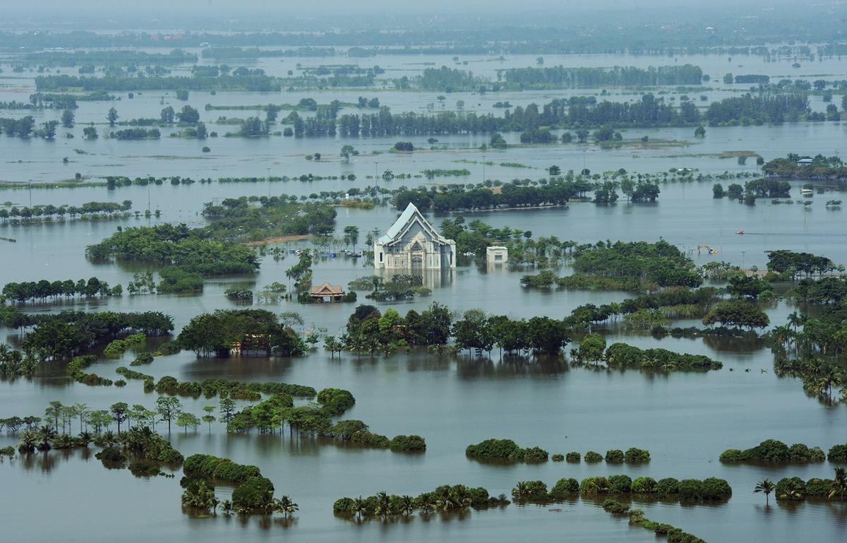 шторм в Тайланде