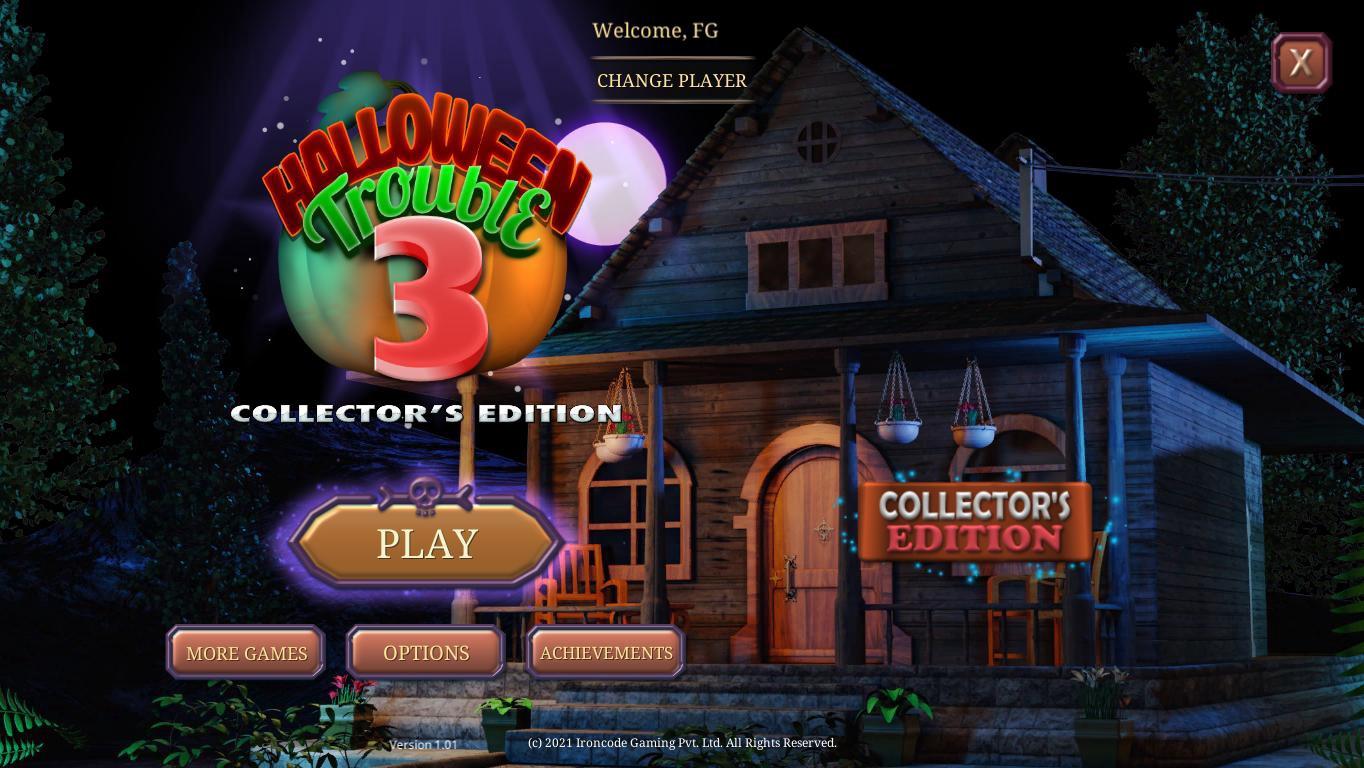 Беда в Хэллоуин 3. Коллекционное издание | Halloween Trouble 3 CE (En)